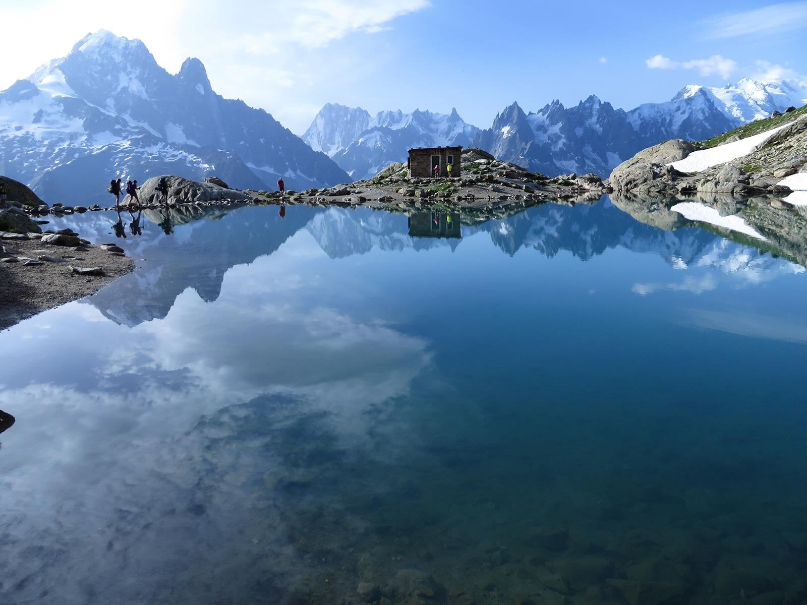 Mont Blanc water